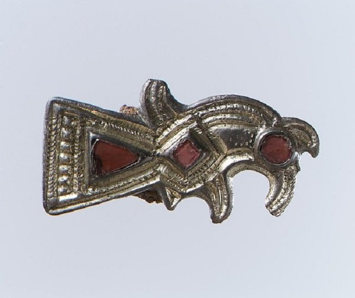 Меровингская фибула VII век